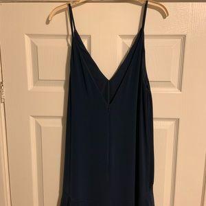 KEEPSAKE the Label Dresses - Keepsake (RTR) Navy Mercy Maxi Dress. Size Medium